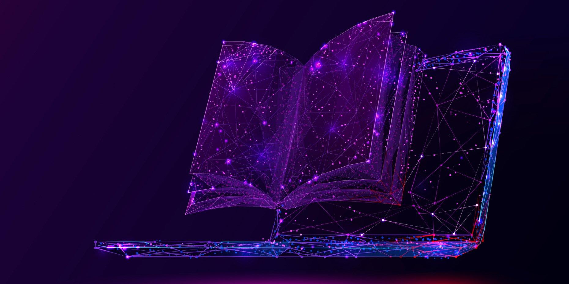 big purple book placeholder